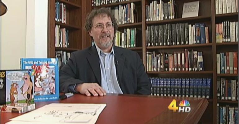 Leigh Rubin, Creator Of Rubes Cartoons, Profiled On WSMV TV