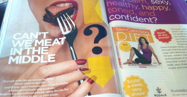 Consumer Magazines Brag On Beef