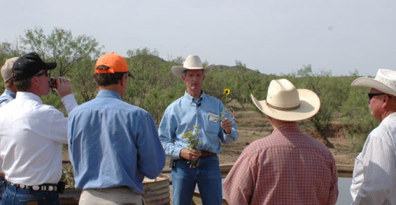 Cowboy hats and hunterrsquos caps came together during the LX Ranch Tour to learn how wildlife and cattle can coexist The two are very compatible and as ranches look for more ways to diversify their economic base the outdoor recreation potential their land affords has become an important part of ranch economics for many landowners