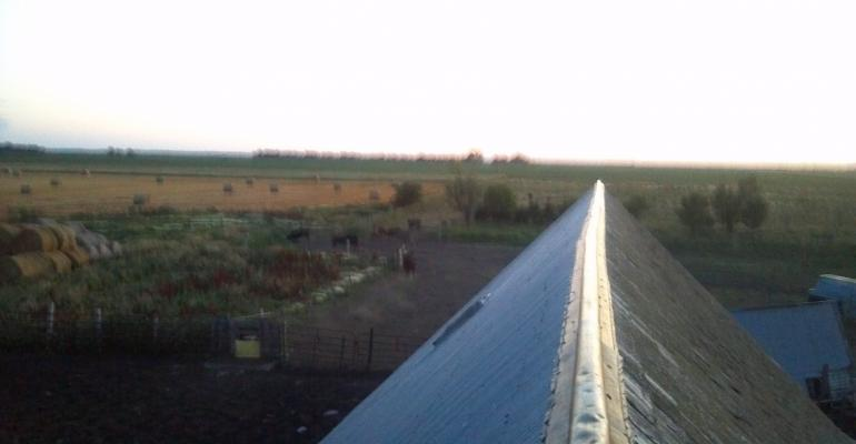 Musings While Tinning The Barn Roof