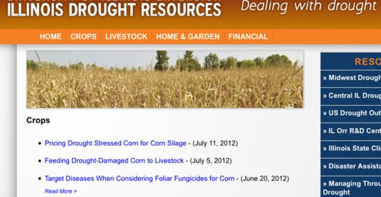 University of Illinois Extension Provides Drought Resource