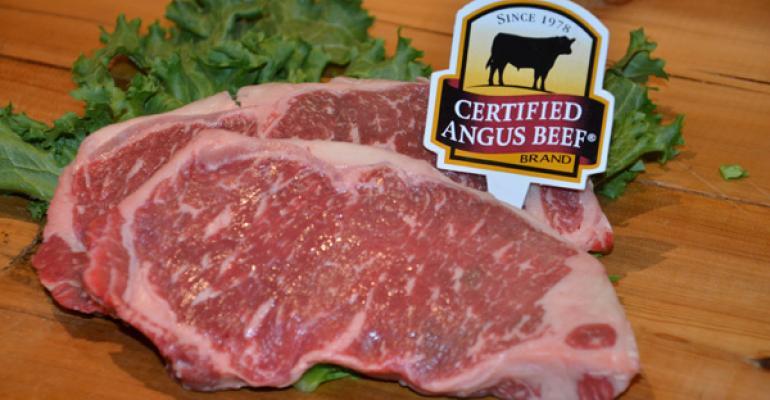 Certified Angus Beef choice steak