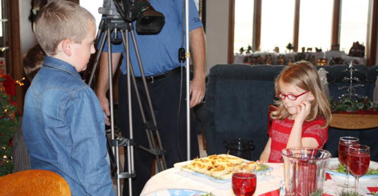 Shooting a holiday beef commerical