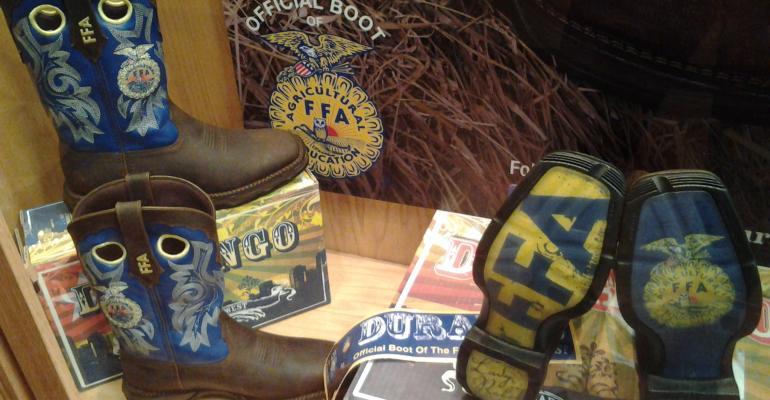 Durango dedicates boot to FFA