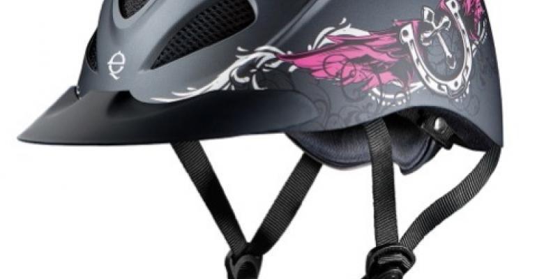 Troxel launches Western fashion helmet series