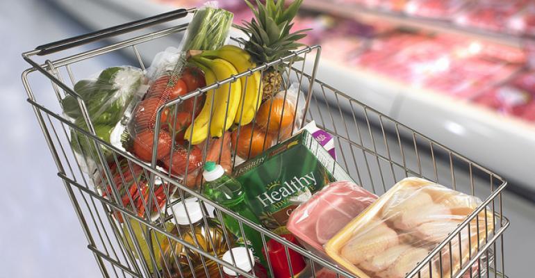 USDA grocery cart