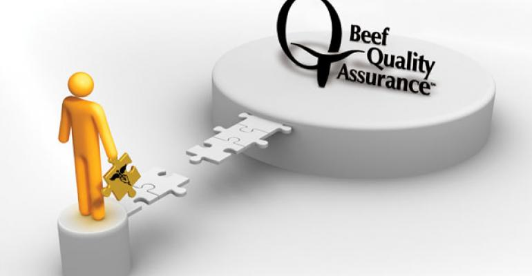 beef quality assurance important for beef veterinarians