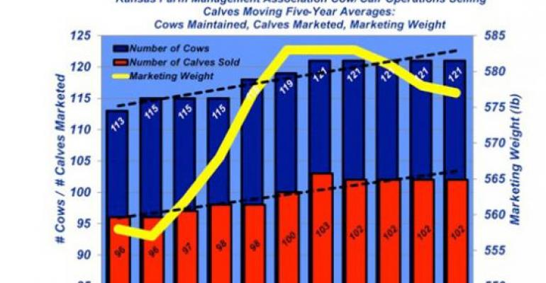 Industry At A Glance: Kansas Cowherd Trends