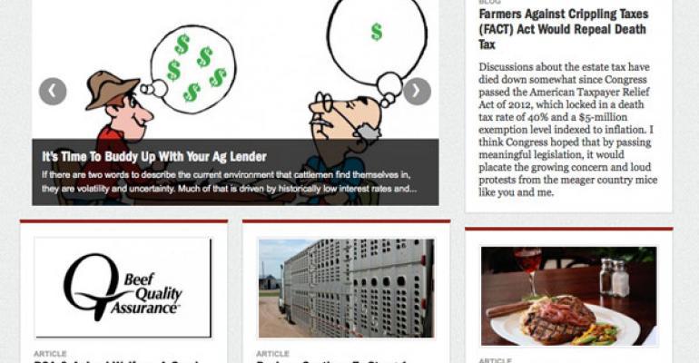 beef magazine mobile platform