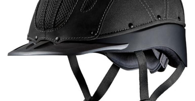 Western helmet redesigned