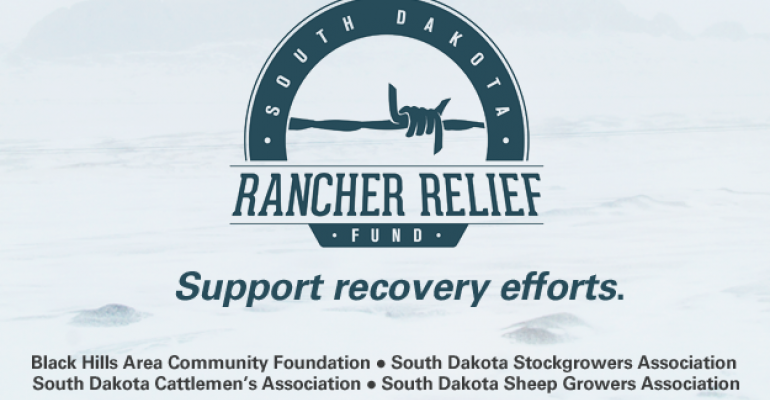 Relief Fund Established For South Dakota Ranchers