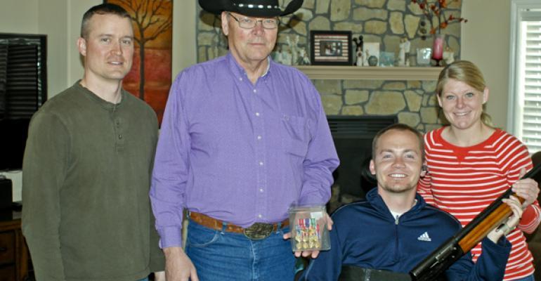 rancher gifts soldier family gun