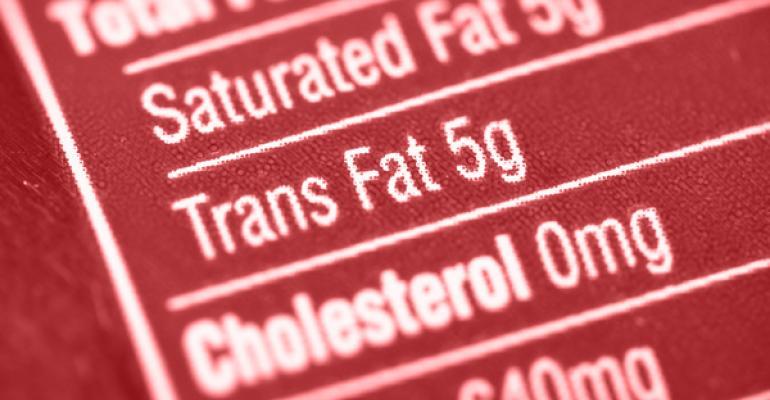 eliminating trans fats