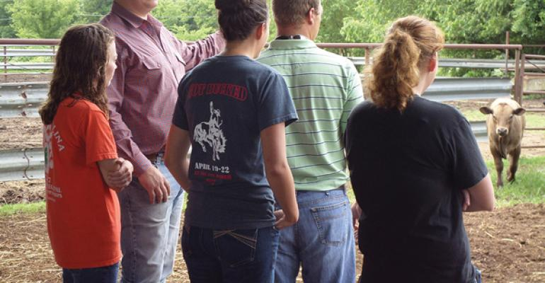 B-PIKE Program Offers Vet Students Real-World Experience In Feedlot & Stocker Cattle