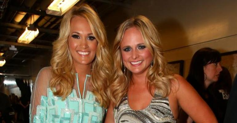 miranda lambert  carrie underwood differ on farming support