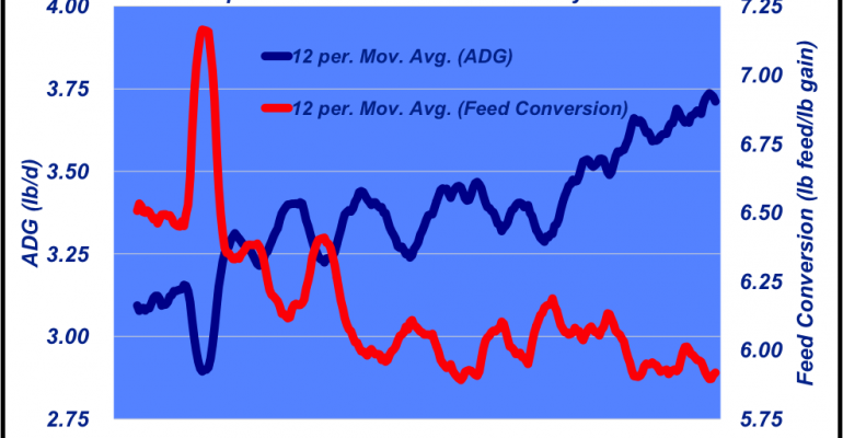 Industry At A Glance: Is There A Biological Top In Feedlot Performance?