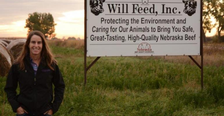 A Nebraska Cattle Feeder Stands Up For Her Industry