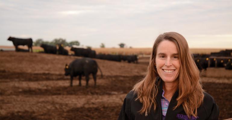 Nebraska cattle feeder Anne Burkholder is BEEF magazines 2014 Trailblazer honor