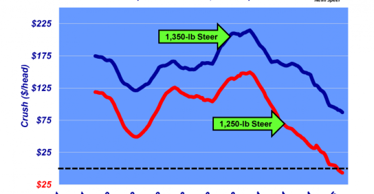 Industry At A Glance: Heavier cattle weights changing feeders' breakeven assumptions