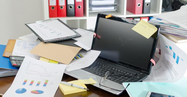 The great desk conspiracy: How a tom cat initiated my office clean up