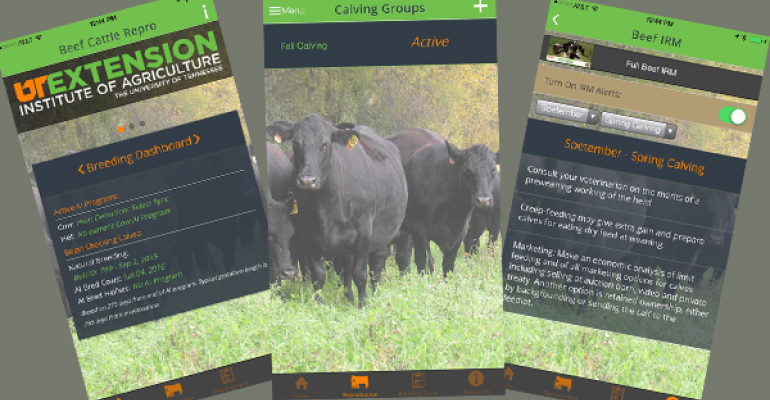 New app features reproduction management info, BEEF news