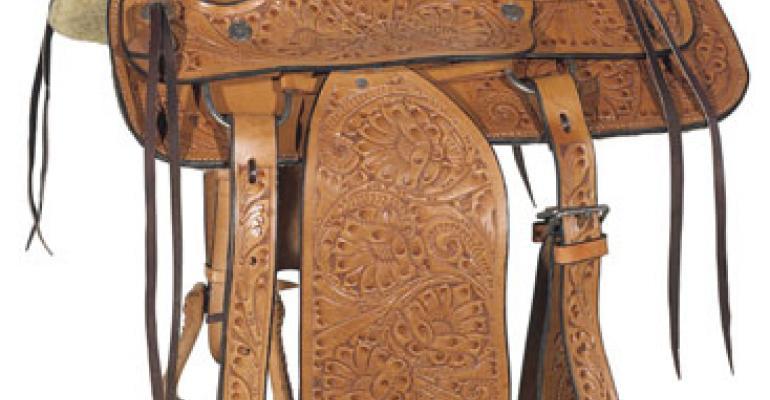 Pleasure Saddle from El Paso Saddle Blanket