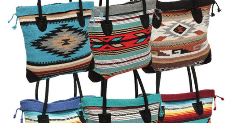 Tote bags from El Paso Saddle Blanket