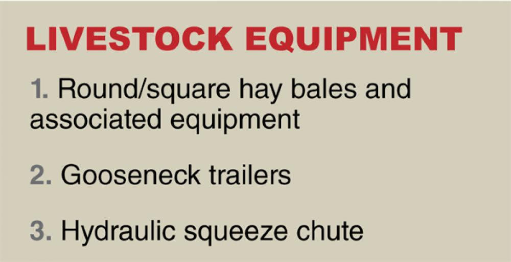 What were the most important innovations in livestock equipment?