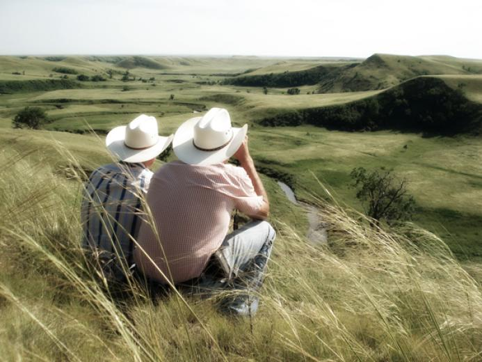 Jake And Dad by Rache Marthaler