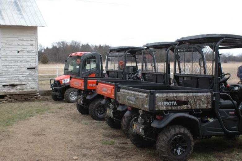 Kubota RTV Utility Vehicles Have Cargo Capacity