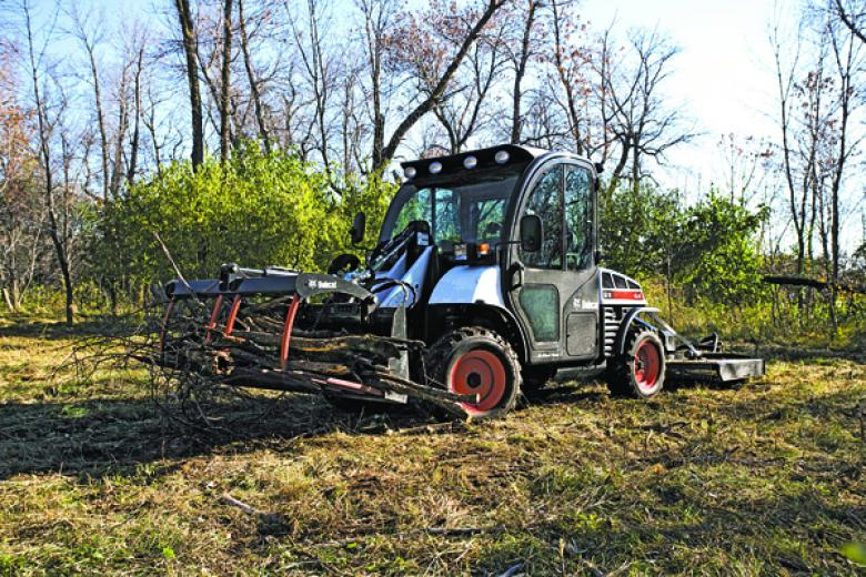 Toolcat 5610 provides attachment versatility