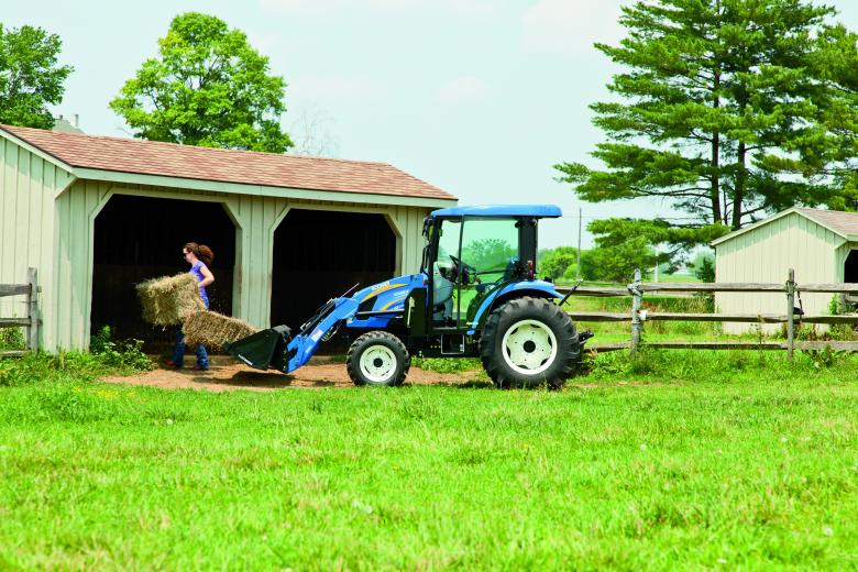 Boomer tractor comfort & control