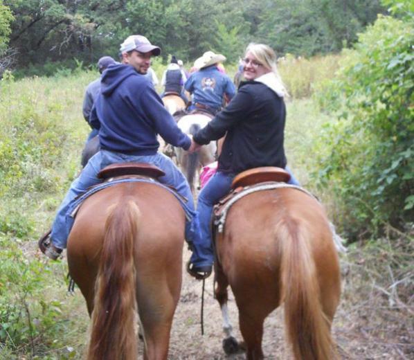 Trail Ride by Bruce B.