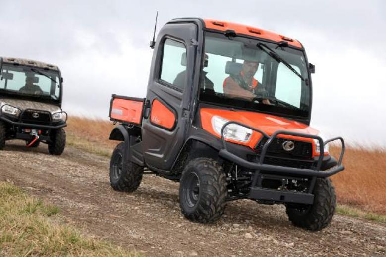Kubota RTV Utility Vehicles Put To The Test