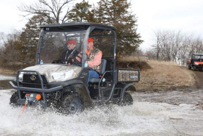 Kubota RTV Utility Vehicles Cover The Country