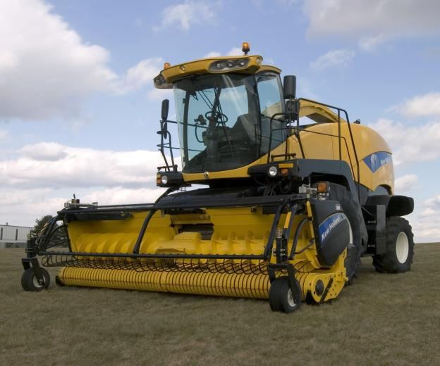 New Holland's FR Series harvester