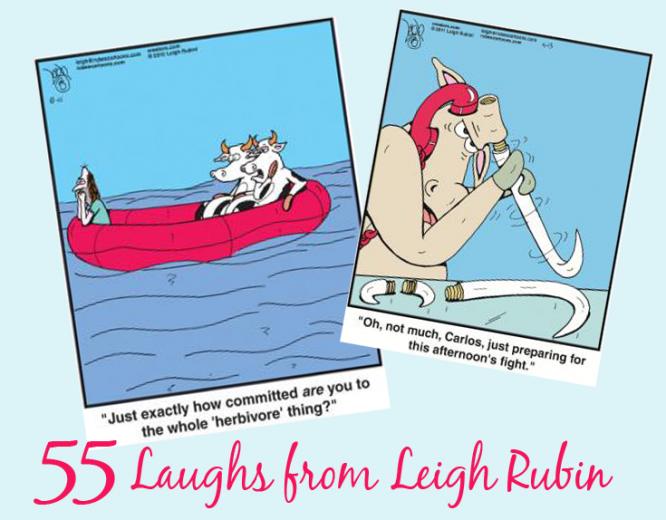Enjoy 55 Laughs On Us!   Rubes Cartoons