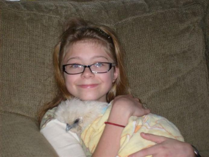 Maddie and Marshmallow by Loyce Gilpin