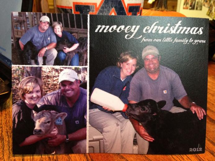 Schober Family Christmas Card by Rick and Rebecca Schober