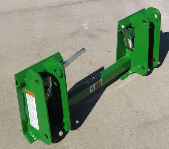 John Deere attachment adapter