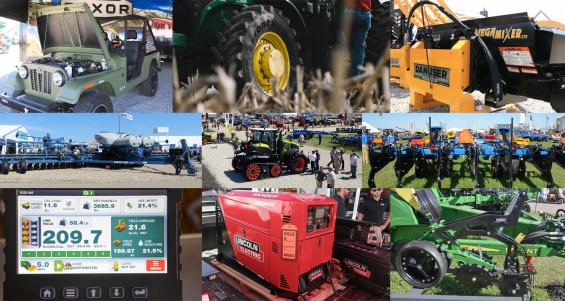 New equipment from 2019 farm shows