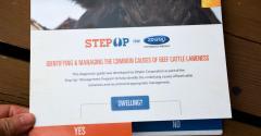 Flip-chart start page