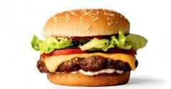 Fake meat burger