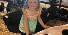 Scarlett at the county fair