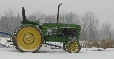 This Week in Agribusiness - Snow on a John Deere
