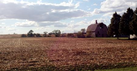 By the end of July 2012 about 86 percent of the primary corn and soybean belt experienced moderate to extreme drought surpassing all previous droughts except those in 1988 and the 1930sThe corn on this Iowa farm was harvested weeks ahead of schedule due to extreme heat The condition of about half of all corn fields in Iowa was listed as poor or very poor according to the Iowa Department of Agriculture