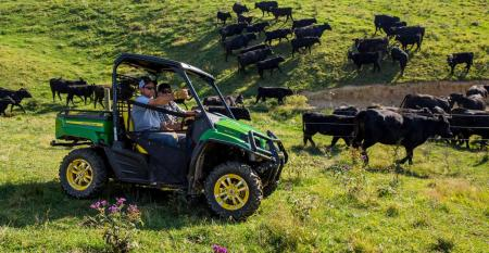 UTVs useful for ranch work