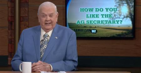 How do you like the Ag Secretary?