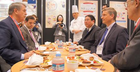Promoting beef in Japan