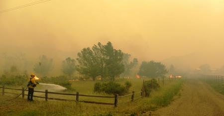 USDA wildire photo